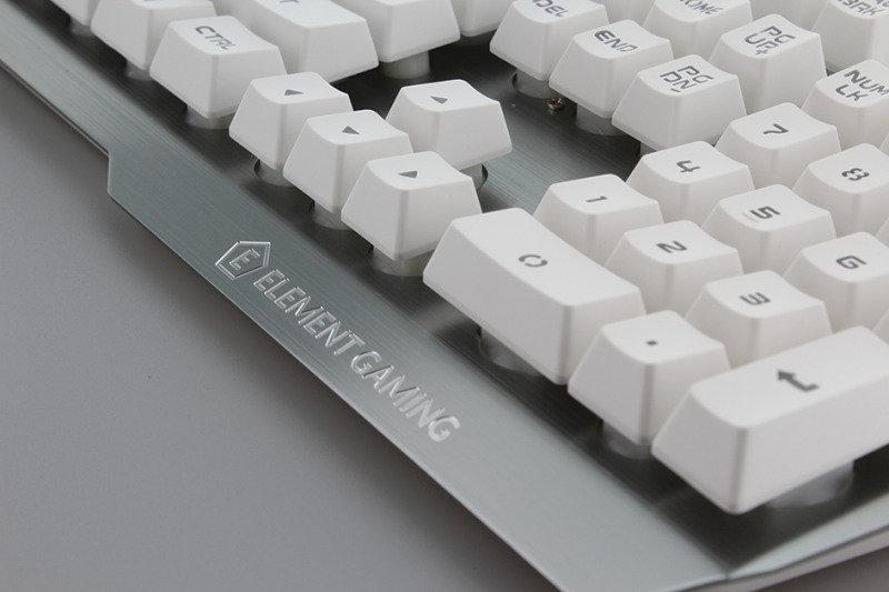 Element Gaming Palladium - Aluminium LED Gaming Keyboard @ eBuyer £19.96