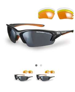 Sunwise Equinox Cycling Glasses £18.60 with 4 lens set at tredz delivered ( £13.60 with code on £30 spend)