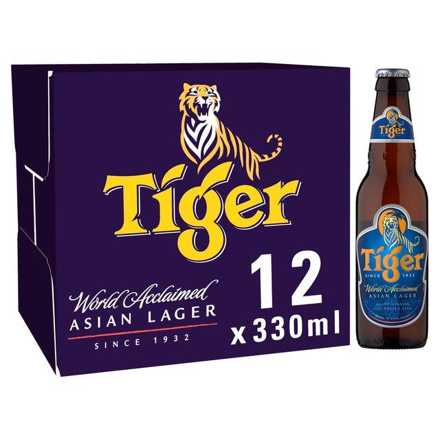 Tiger beer 3 x 12 330ml bottles - £21 @ ASDA
