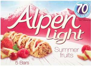 Alpen Breakfast/Snack Bars - 75p @ Poundstretcher