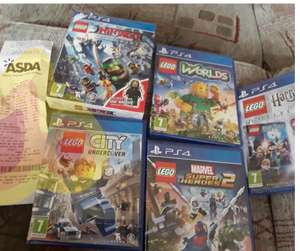 Lego PS4 games from £8 in Asda Wakefield
