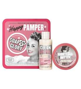 3 For 2 on a selection of Soap & Glory incl. Gifts. Perfect for Teachers gifts - prices from £4 @ Boots