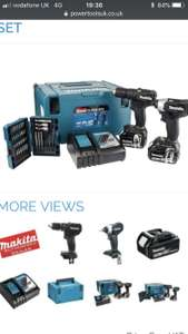 Makita twin set with two 5ah batteries - £250.45 @ Powertoolsuk