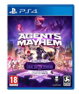 Agents of Mayhem: Day One Edition (PS4) £4.50 @ Sold by MonsterBid and Fulfilled by Amazon Prime (£6.49 non Prime)
