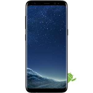 "Grade B Samsung Galaxy S8 Black 5.8"" 64GB Unlocked & SIM Free (take out the which trial and it knocks it down to an incredible £285.97) @ Appliances direct for £299.97"