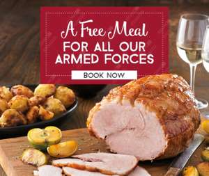 Armed Forces Day 2018: Free carvery or breakfast for all personnel