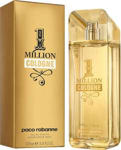 Paco Rabanne 1 Million Cologne EDT Spray 125ml £28.89 @ Perfumeshopping
