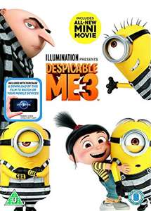 Despicable Me 3 (DVD + digital download) £5.95 Prime / £8.94 Non-Prime