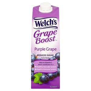 Welch's grape juice light & white grape with pear 65p @ Tesco