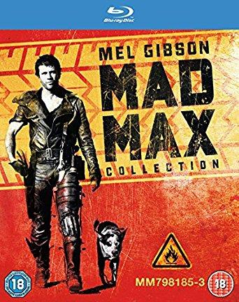 The Mad Max Trilogy [Blu-ray] [2013] [Region Free] £4.92 prime / £8.19 non prime @ Amazon