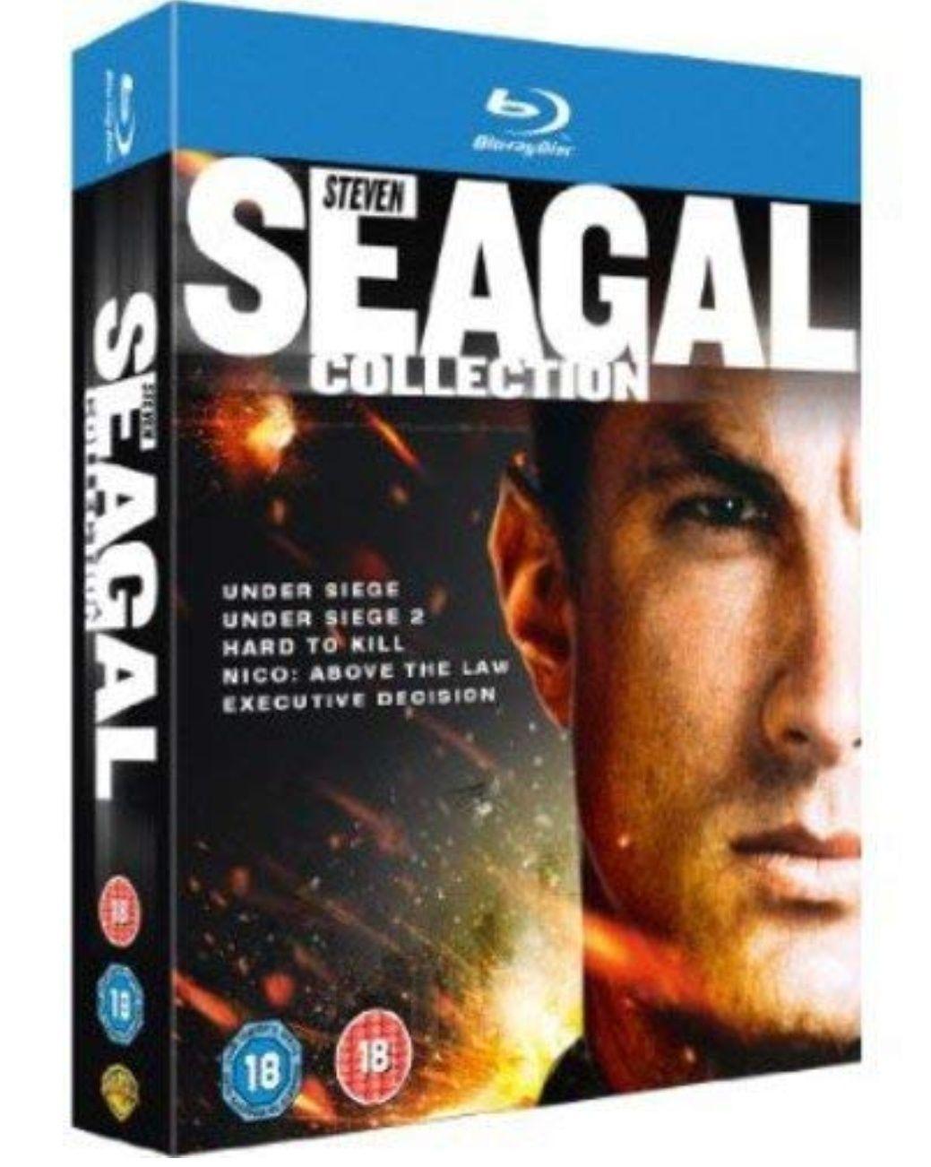 The Steven Seagal Collection [Blu-ray] - £7.99 (Prime / £10.98 non Prime) @ Amazon