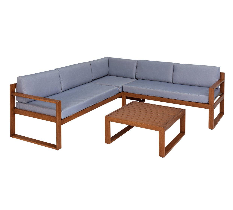 Collection 5 seater aluminium corner sofa set £349 / £355 delivered @ Argos