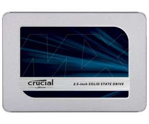 Crucial MX500 500Gb SSD £89.99 at Amazon