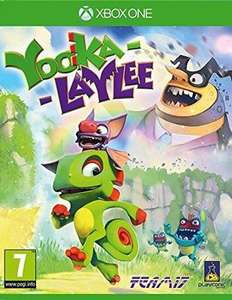 Yooka-Laylee Xbox One Used @musicmagpie for £4.89
