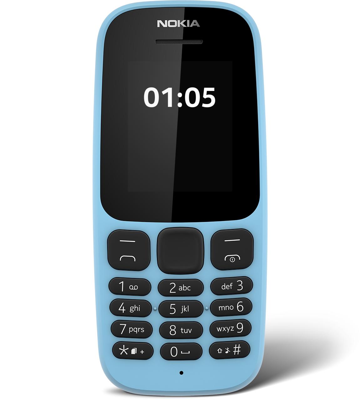 Nokia 105(2017) Free if you buy £10 topup(£5 topcashback) @ CPW