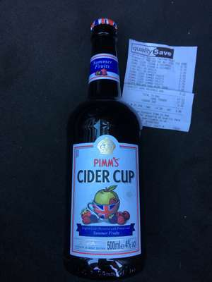 Pimm's Cider 500ml for 79p  at Quality Save