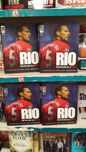 RIO - My Decade as a Red [Hardcover] £1 @ Poundland
