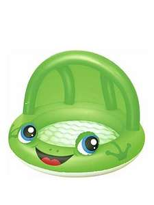 Bestway frog shaded pool / ball pit was £13.99 now £8.99 and Deep dive 3 ring pool was £11.99 now £7.99 free next day c&c @ Very