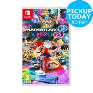 Mario Kart 8 Deluxe - Nintendo Switch £38.69 with code at Argos on eBay