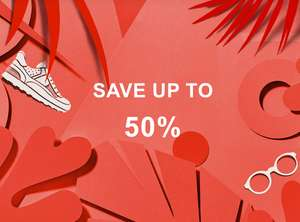 50% off Trainers at Zalando brands like Converse, Nike, Adidas Free delivery examples in post