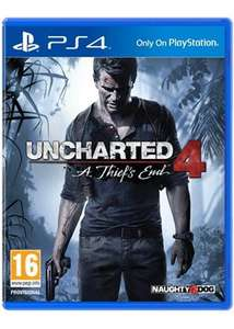 Uncharted 4: A Thief's End *NEW* [PS4] £13.99 including FREE delivery at Base.com