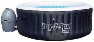 Bestway Lay-Z-Spa Miami 4 Person Inflatable Airjet Heated Round Hot Tub £276.94 delivered @ Argos Ebay