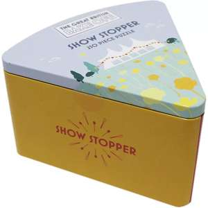 The Great British Bake Off - Show Stopper Jigsaw Puzzle Tin £2.00 @The Works - Free C+C