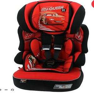 Disney Cars or Frozen high backed booster car seats now £34.99 with free c&c @ Mothercare