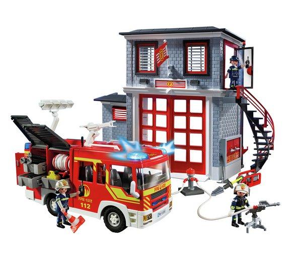 Playmobil 9052 City Action Fire Station Super Set now £39.99 C+C @ Argos