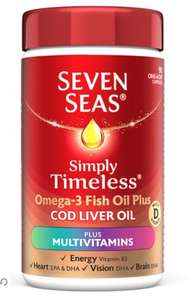 seven seas simply timelesss multivitamins £1 at Poundland