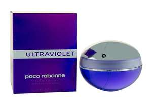 Paco Rabanne Ultraviolet (For Women) 80ml EDP £23.78 Delivered @ Perfumeshopping