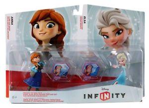 Disney Infinity 1.0 Frozen Anna & Elsa Toy Box Set. From Argos on ebay - £3.99