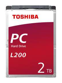 Heads Up. New Product. 2.5'' --9.5mm-- Toshiba L200 SATA 2TB PMR 5400rpm Internal Hard Drive + free 5 day delivery. @ Ebuyer