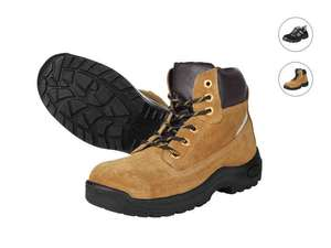 Powerfix mens safety boots £17.99 Lidl