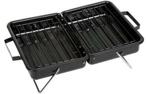 Halfords Briefcase BBQ Grill New - £5 (free c&c)