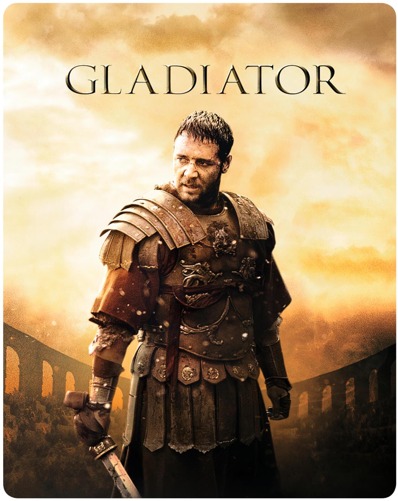Gladiator 4K Steelbook £22.49 @ Zavvi (Free postage)