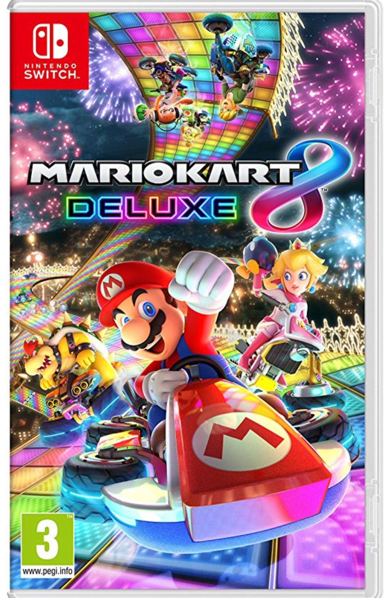 Mario Kart 8 Deluxe [Nintendo Switch] - £31.99 at cjs-cdkeys.com - Digital Download