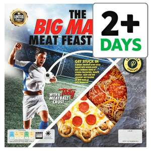 The Big Match Meatball Crust Meat Feast Pizza 525G half price £3.50 @ Tesco Groceries