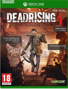 Dead rising 4 £9.99 (Prime) / £12.98 (non Prime) Sold by Go2Games and Fulfilled by Amazon.