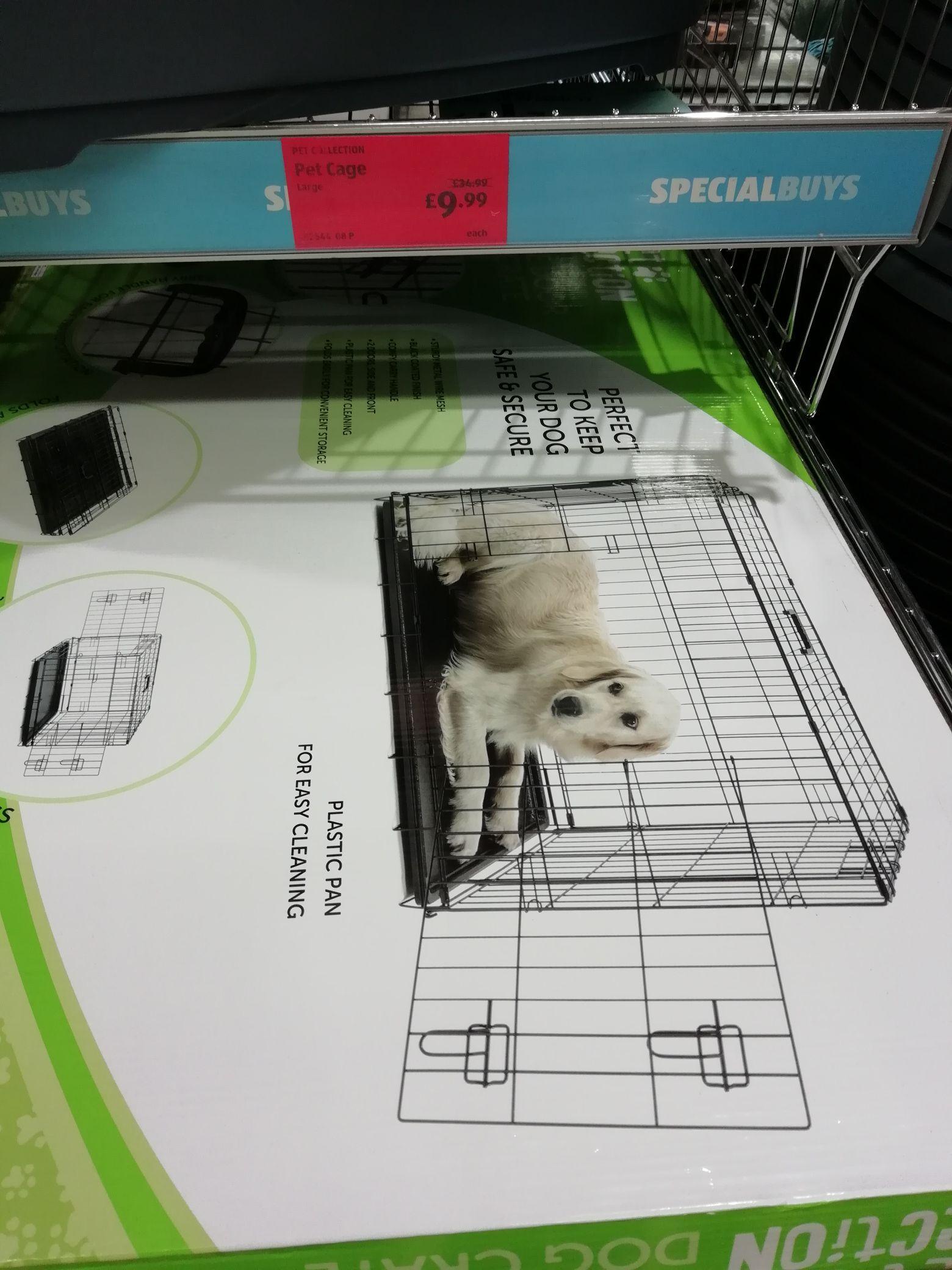 Aldi large pet crate / cage £9.99