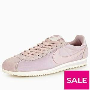 Womens Nike Classic Cortez trainers lots of designs and colours reduced eg Classic Cortez Nylon in navy was £62 now £32.20 free c&c more in OP @ Very