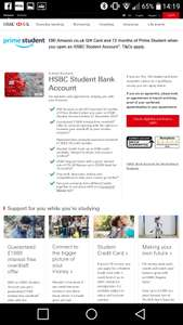 Apply for (or switch) student bank account to HSBC for £80 Amazon gift card and 12 months prime.