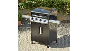 Char-Broil 4 burner and side gas grill £149.90 + £14.45 Delivery @ Asda
