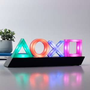 PlayStation icon light (pre order) £24.99 / £29.48 delivered @ Firebox