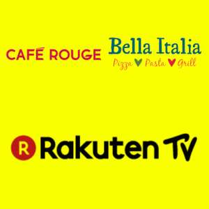 This Week's Wuntu offers: Free Rakuten Film (350 SP free) and £3 Bella Italia/Café Rouge @ Wuntu