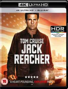 Jack Reacher 4K Dolby Vision £5.99 @ iTunes