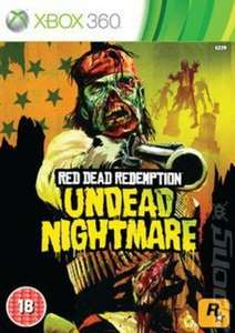 Red Dead Redemption Undead Nightmare - Xbox 360 (Backwards compatible) Used @ musicmagpie for £3.23