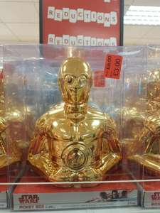 C3p0 money box was 8 now £3 in Primark Leicester