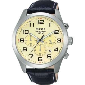 Pulsar PT3665X1 Gent's Chronograph Wristwatch £42 Delivered (plus more in post) @ HS Johnson
