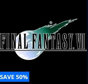 Final Fantasy VII PS4 £6.49, also Final Fantasy IX (deal in description) @ Playstation PSN